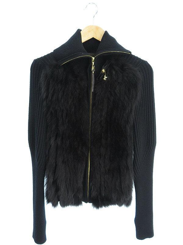 【Louis Vuitton】【アウター】ルイヴィトン『ニット・ファージャケット sizeS』レディース 1週間保証【中古】