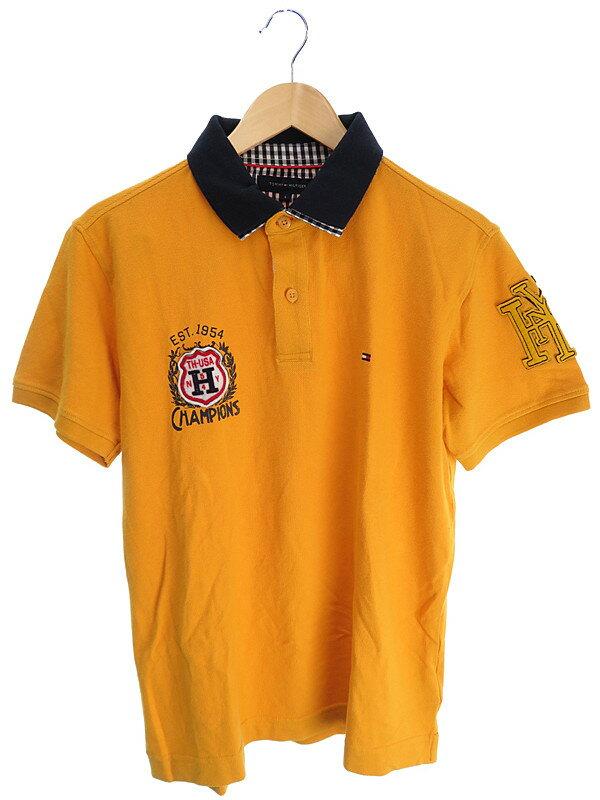 【TOMMY HILFIGER】【トップス】トミーヒルフィガー『半袖ポロシャツ sizeL』メンズ 1週間保証【中古】
