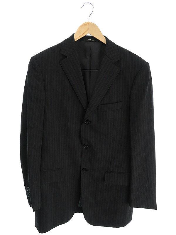 【VERRI】【上下セット】ヴェリー『ストライプ柄スーツ size92A-5』メンズ セットアップ 1週間保証【中古】