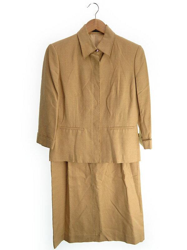 【NEWYORKER】【上下セット】ニューヨーカー『七分袖スーツ スカート size11AR』レディース セットアップ 1週間保証【中古】