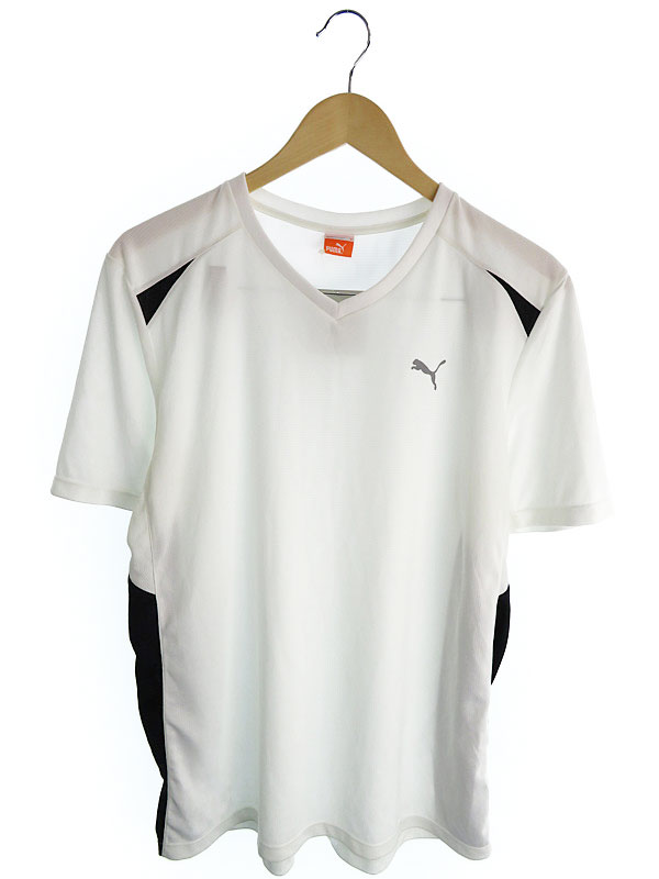 【PUMA】【トップス】プーマ『半袖Tシャツ sizeO』メンズ カットソー 1週間保証【中古】