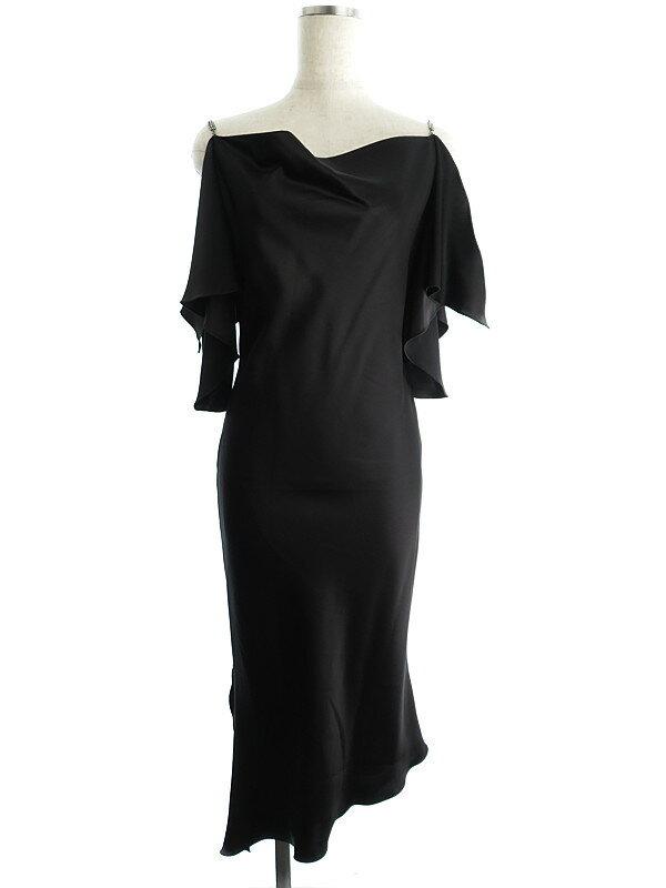 【NOVESPAZIO】ノーベスパジオ『ラインストーン付ドレス size38』レディース 1週間保証【中古】