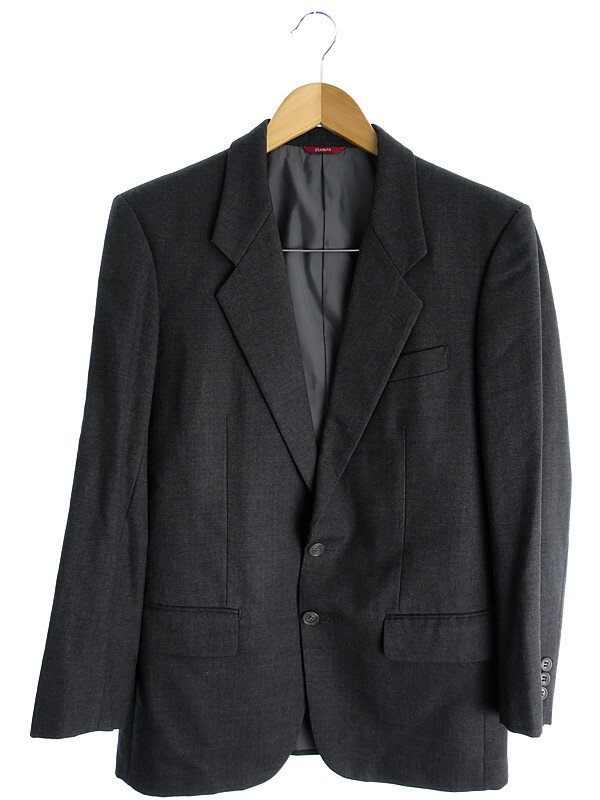 【DURBAN】【上下セット】【ベスト付】ダーバン『3ピーススーツ size88YA4』メンズ 1週間保証【中古】