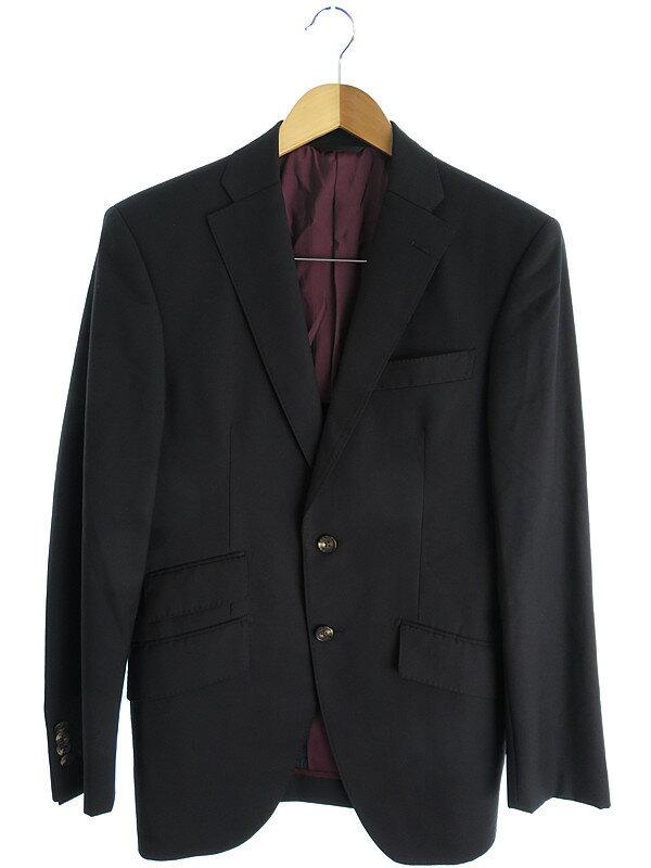 【azabu tailor】【Ermenegildo Zegna】【上下セット】麻布テーラー『スーツ size046 A』メンズ セットアップ 1週間保証【中古】