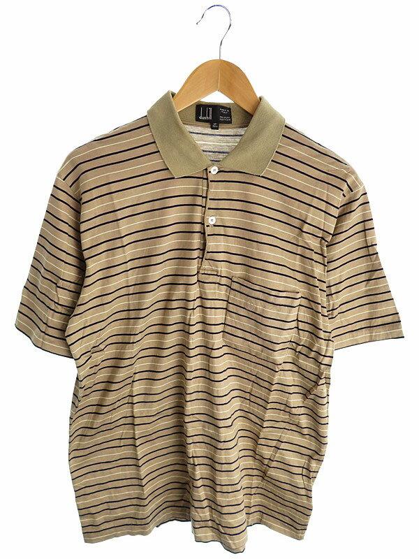 【dunhill】【トップス】ダンヒル『半袖ポロシャツ size40 102cm』メンズ 1週間保証【中古】