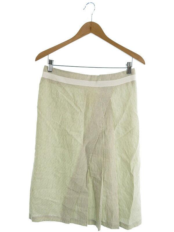【MaxMara】【ボトムス】マックスマーラ『リネンスカート size40』レディース 1週間保証【中古】
