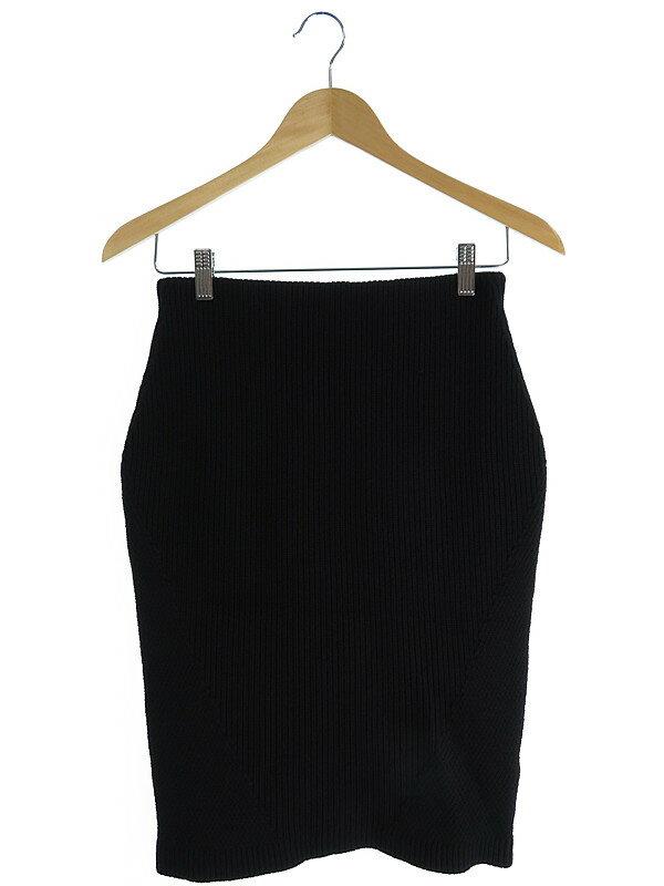 【MICHEL KLEIN】【ボトムス】ミッシェルクラン『アンダースカート付 ニットスカート size38』レディース 1週間保証【中古】
