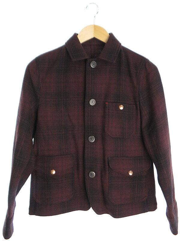 【UNIQLO】【アウター】ユニクロ『ウールジャケット sizeS』メンズ 1週間保証【中古】