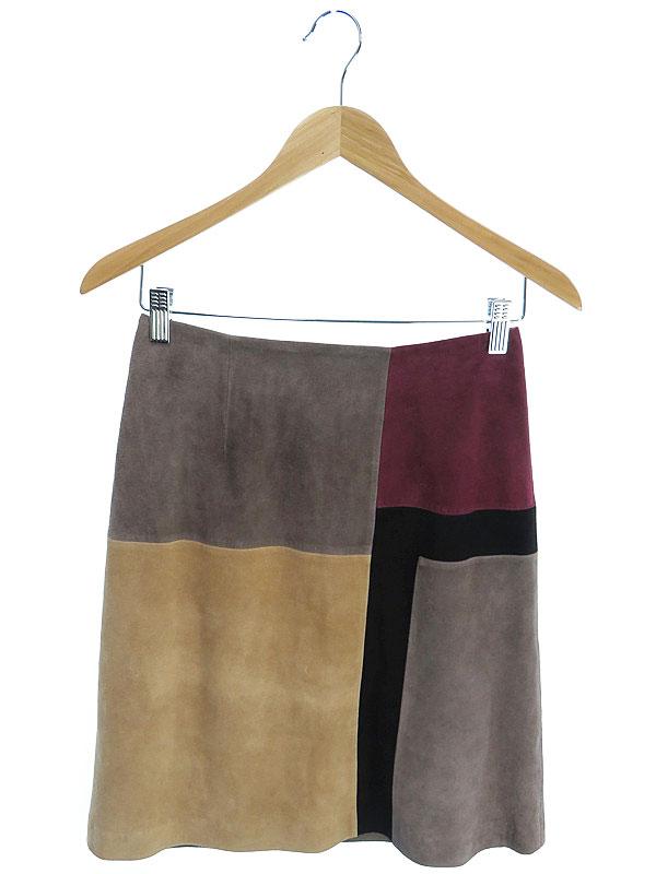 【GRACE CONTINENTAL】【ボトムス】グレースコンチネンタル『レザースカート size36』レディース 1週間保証【中古】