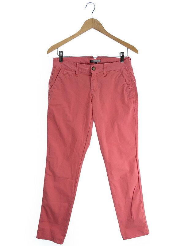 【TOMMY HILFIGER】【ボトムス】トミーヒルフィガー『パンツ size4』レディース ズボン 1週間保証【中古】