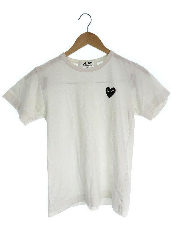 【COMME DES GARCONS】【PLAY】【トップス】コムデギャルソン『半袖Tシャツ sizeS』レディース 1週間保証【中古】