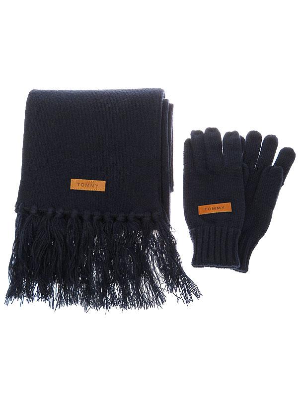 【TOMMY】トミー『マフラー&手袋セット』メンズ 1週間保証【中古】