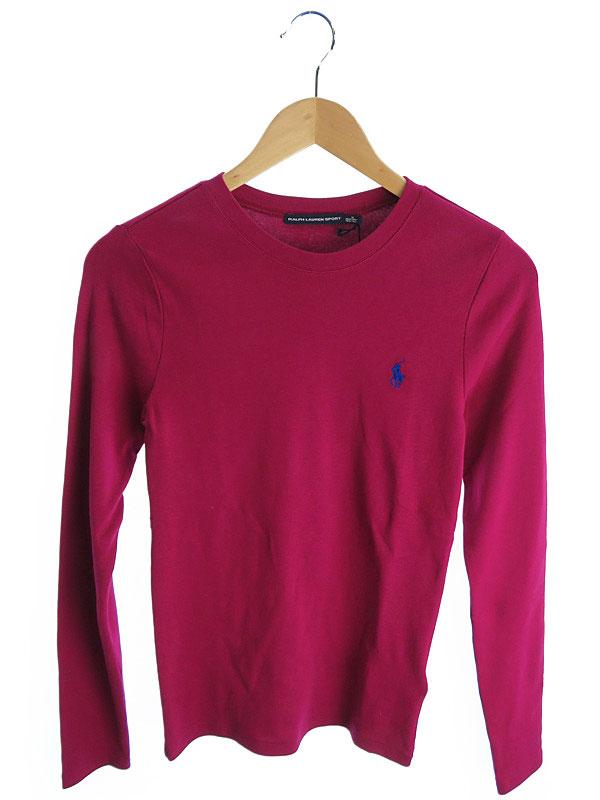 【Ralph Lauren SPORT】【トップス】ラルフローレン『長袖ニット sizeM 165/92A』レディース Tシャツ 1週間保証【中古】
