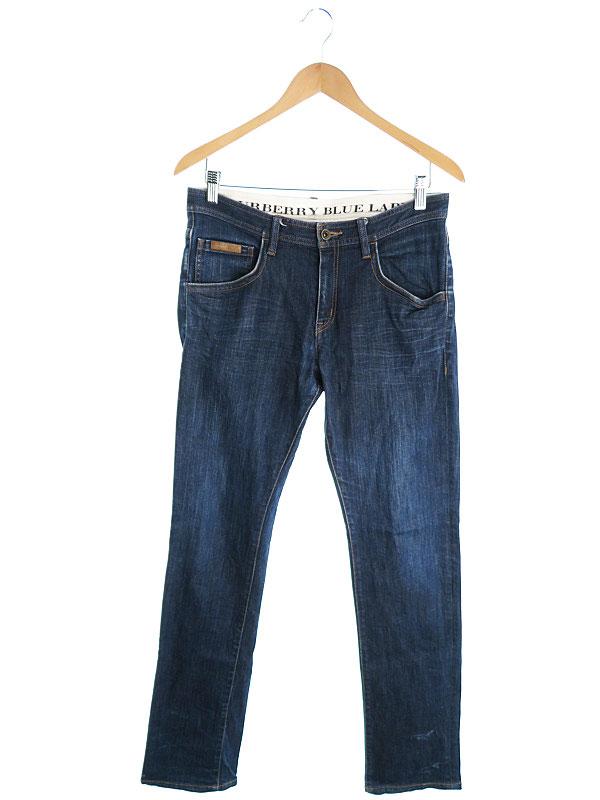 【BURBERRY BLUE LABEL】【ボトムス】【ジーパン】バーバリーブルーレーベル『ジーンズ sizeM』メンズ デニムパンツ 1週間保証【中古】
