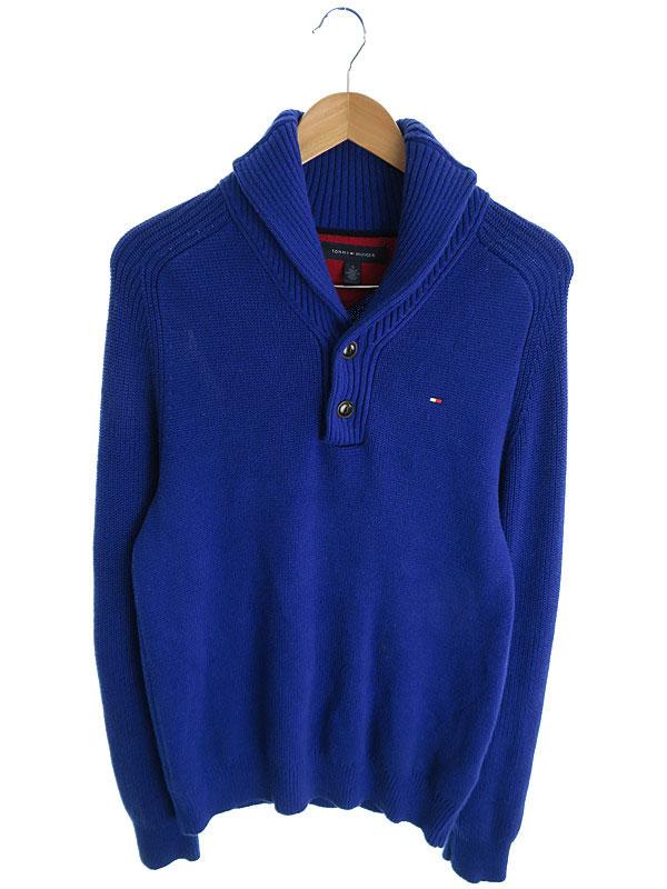 【TOMMY HILFIGER】【トップス】トミーヒルフィガー『長袖ニット sizeM』メンズ セーター 1週間保証【中古】