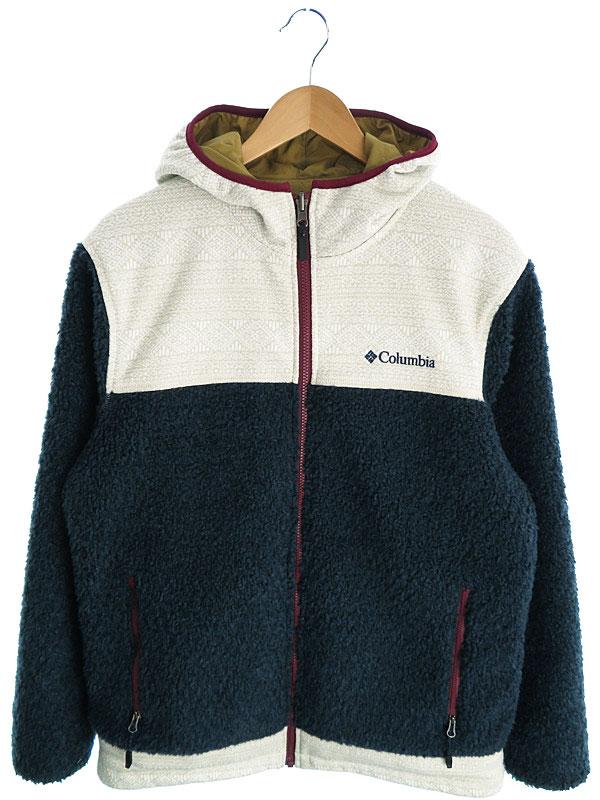 【Columbia】【アウター】コロンビア『リバーシブルパーカージャケット sizeL』メンズ ブルゾン 1週間保証【中古】