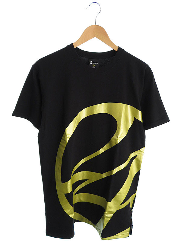 【24karats】【トップス】24カラッツ『コットン半袖Tシャツ sizeM』メンズ カットソー 1週間保証【中古】
