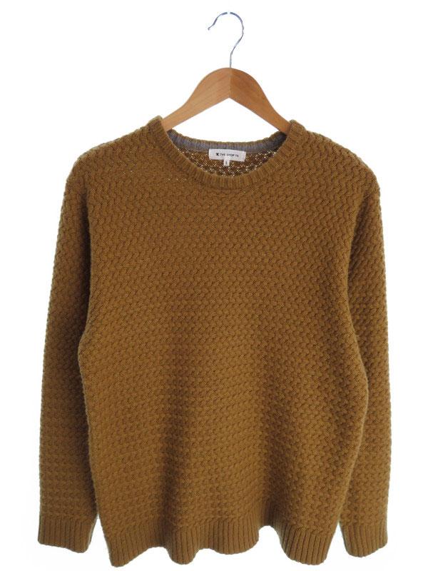 【THE SHOP TK MIXPICE】【トップス】ザショップTKミクスパイス『長袖ニット sizeL』メンズ セーター 1週間保証【中古】