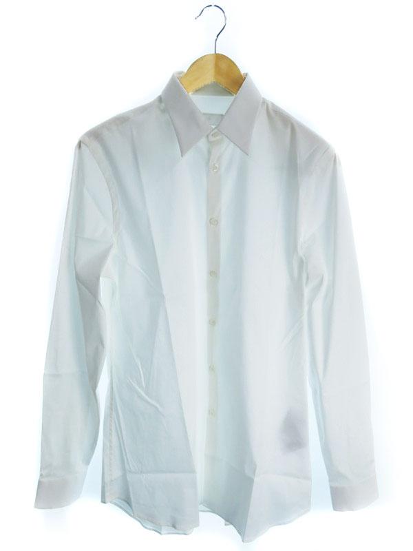 【PRADA】【トップス】プラダ『長袖ボタンシャツ size38/15』メンズ 1週間保証【中古】