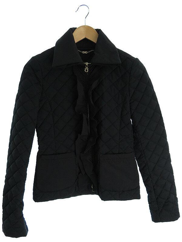 【Salvatore Ferragamo】【アウター】フェラガモ『キルティングジャケット size38』レディース 1週間保証【中古】