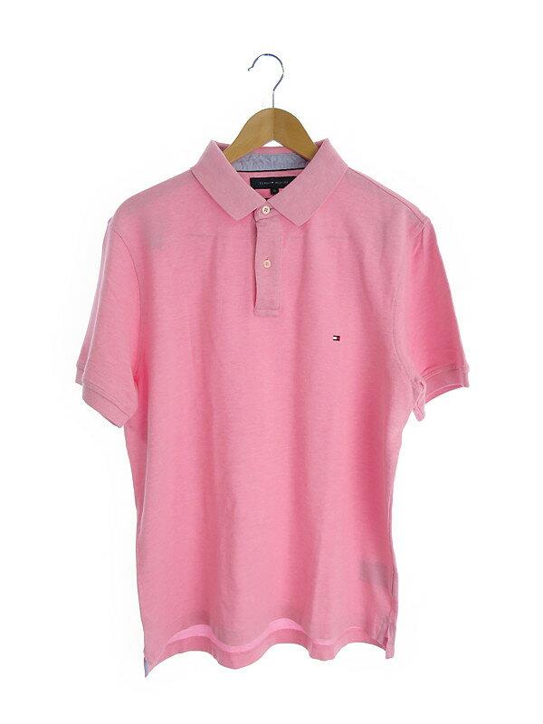 【TOMMY HILFIGER】【トップス】トミーヒルフィガー『半袖ポロシャツ sizeXL』メンズ 1週間保証【中古】