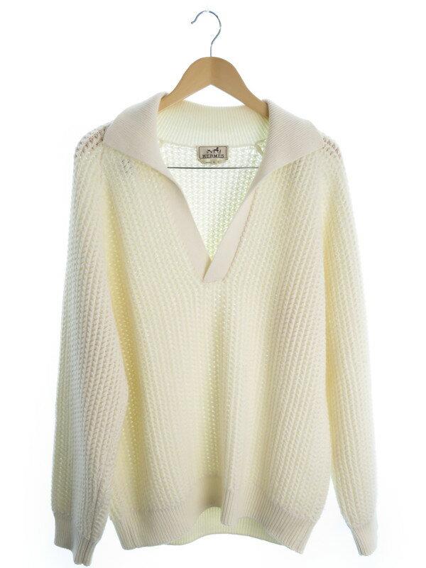 【HERMES】【トップス】エルメス『長袖セーター sizeXL』メンズ ニット 1週間保証【中古】