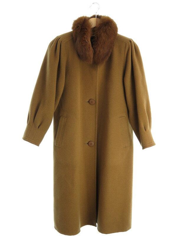 【SOLEIL】【アウター】ソレイユ『ファー付コート sizeS』レディース 1週間保証【中古】
