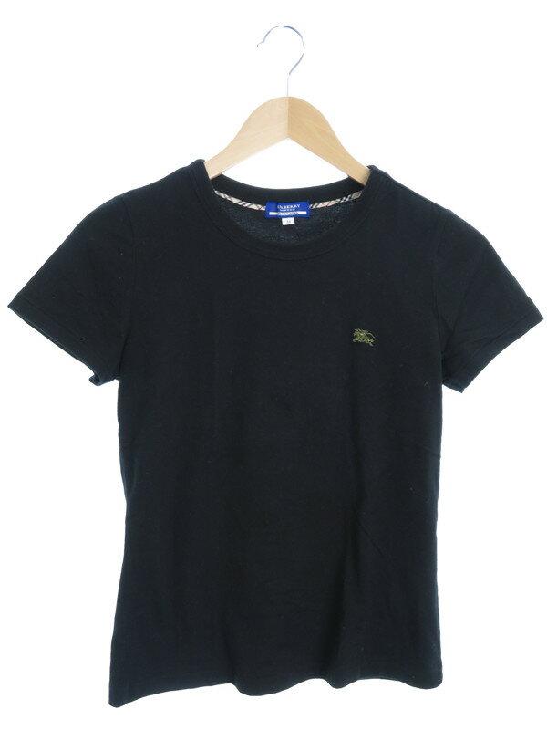 【BURBERRY BLUELABEL】【トップス】バーバリーブルーレーベル『半袖Tシャツ size38』レディース カットソー 1週間保証【中古】