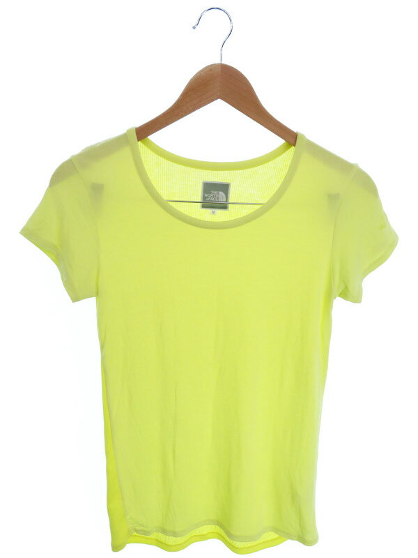 【NORTH FACE】【トップス】ザノースフェイス『切替半袖Tシャツ sizeM』NTW11412 レディース カットソー 1週間保証【中古】