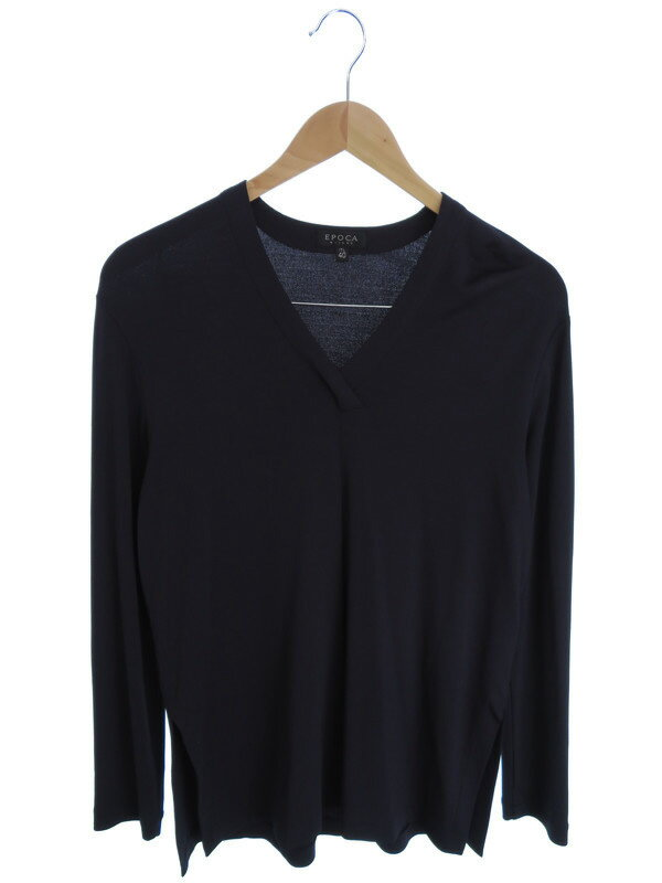 【EPOCA】【トップス】エポカ『長袖Tシャツ size40』レディース カットソー 1週間保証【中古】
