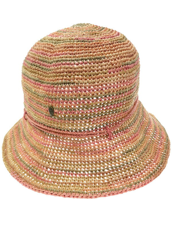 【HELEN KAMINSKI】【麦わら帽子】ヘレンカミンスキー『ラフィア ハット』レディース 帽子 1週間保証【中古】