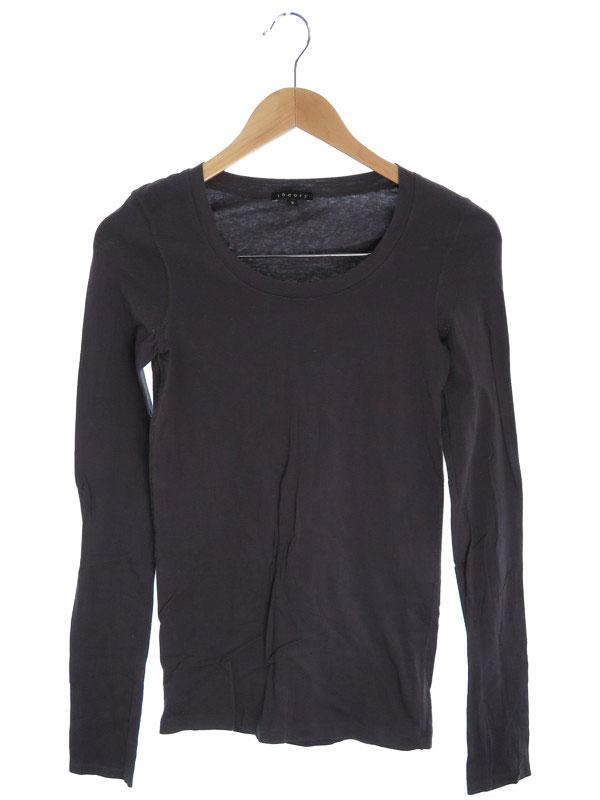 【Theory】【トップス】セオリー『長袖カットソー size2』レディース Tシャツ 1週間保証【中古】