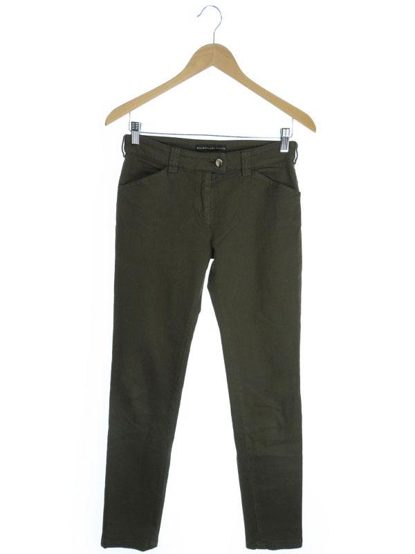 【BALENCIAGA】【ボトムス】バレンシアガ『ロングパンツ size38』レディース ズボン 1週間保証【中古】