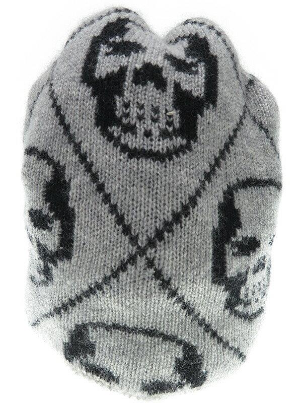 【lucien pellat-finet】ルシアンペラフィネ『カシミヤニットキャップ』ユニセックス 帽子 1週間保証【中古】