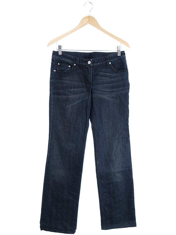 【FENDI】【ボトムス】【ジーパン】フェンディ『ストレートジーンズ size40』レディース デニムパンツ 1週間保証【中古】