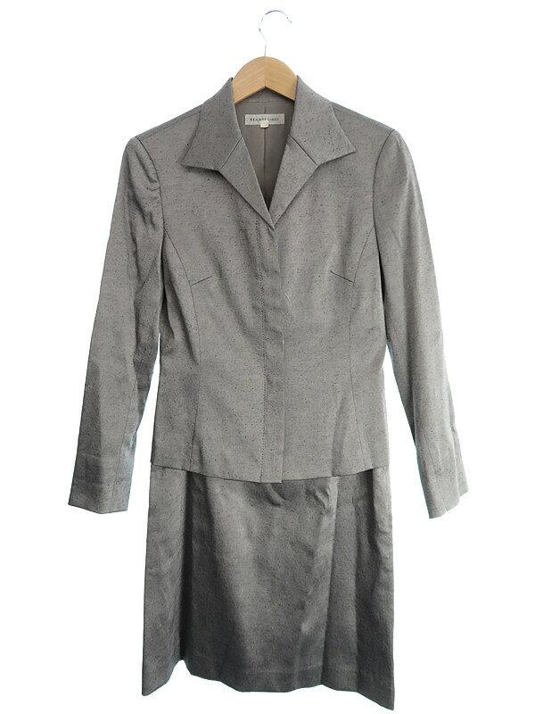 【HARTFORD】【上下セット】ハートフォード『セットアップスカートスーツ size2』レディース 1週間保証【中古】