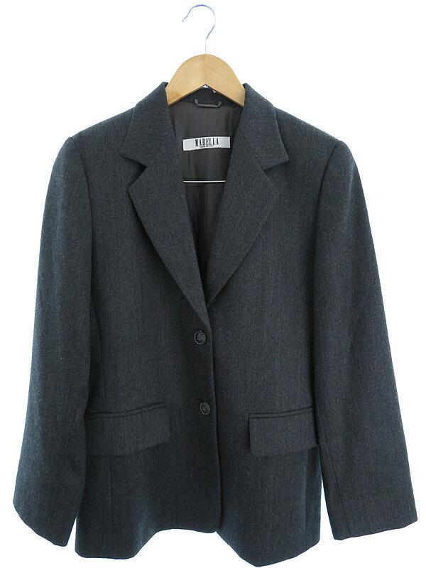 【MARELLA】【上下セット】マレーラ『ジャケットスカートセットアップ size38』レディース 1週間保証【中古】
