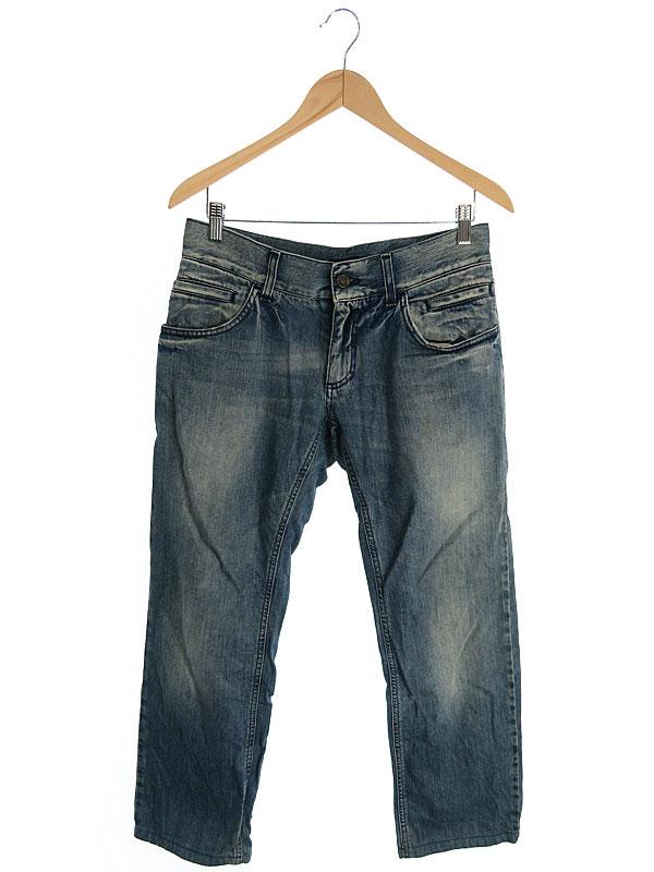 【DOLCE&GABBANA】【ドルガバ】【ボトムス】【ジーパン】ドルチェ&ガッバーナ『ジーンズ size46』メンズ デニムパンツ 1週間保証【中古】