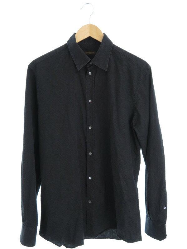 【Louis Vuitton】【トップス】ルイヴィトン『長袖シャツ sizeM』メンズ 1週間保証【中古】
