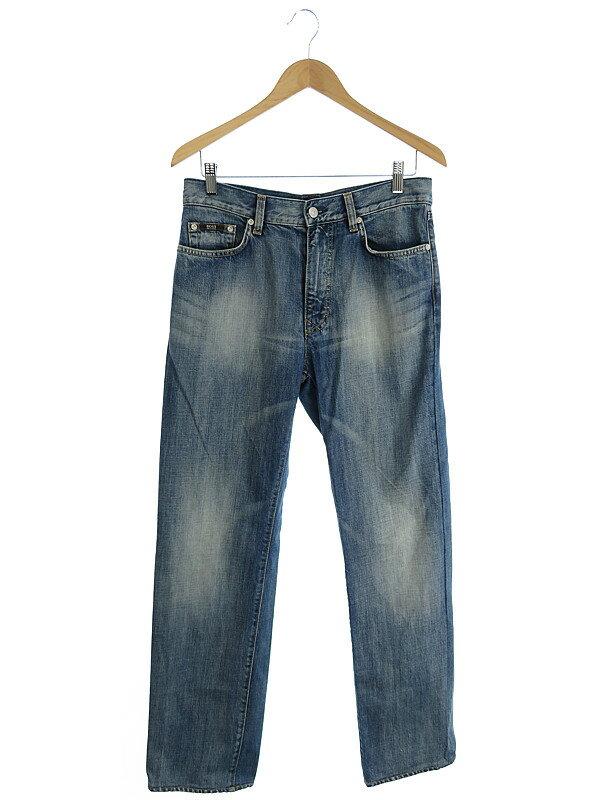 【HUGO BOSS】【ジーパン】ヒューゴボス『ジーンズ size W31 L34』メンズ デニムパンツ 1週間保証【中古】