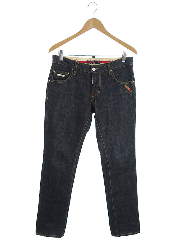 【DSQUARED2】【ジーパン】【ボトムス】ディースクエアード『ジーンズ size46』メンズ デニムパンツ 1週間保証【中古】