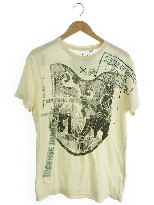 【DIESEL】【トップス】ディーゼル『半袖Tシャツ sizeL』メンズ 1週間保証【中古】