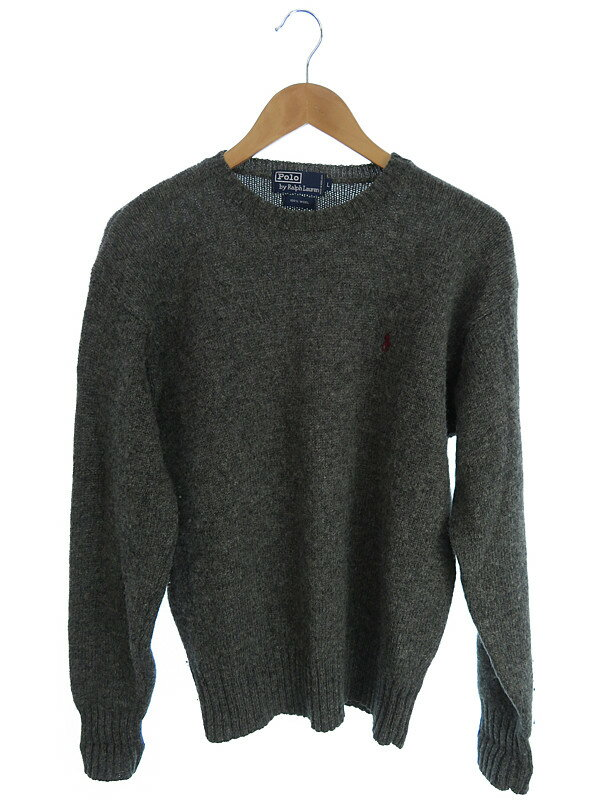 【POLO RALPH LAUREN】【トップス】ポロバイラルフローレン『長袖セーター sizeL』メンズ ニット 1週間保証【中古】