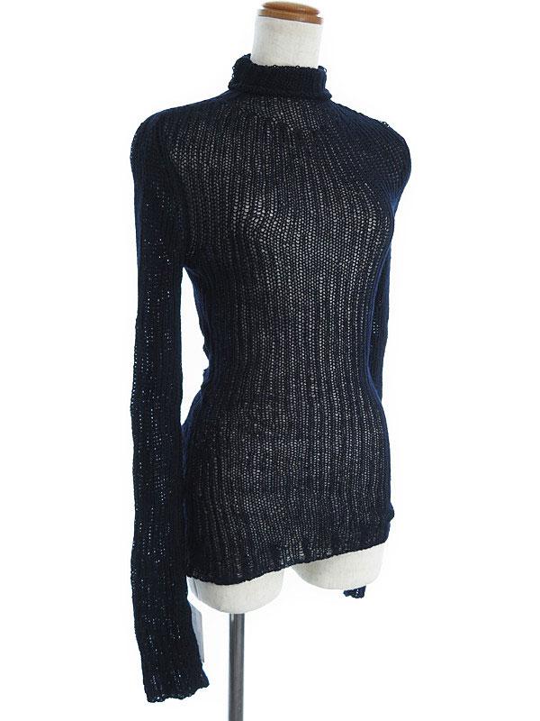【NINA RICCI】【トップス】ニナリッチ『タートルネックロングニット sizeM』レディース セーター 1週間保証【中古】