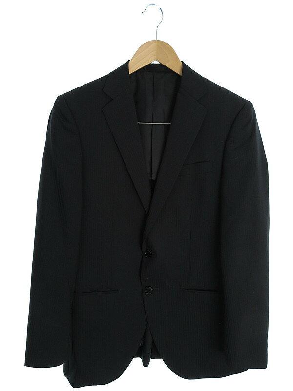 【MALE&Co.】【2ピース】メイル&コー『2ボタン シングルスーツ上下セット sizeY5』メンズ セットアップ 1週間保証【中古】