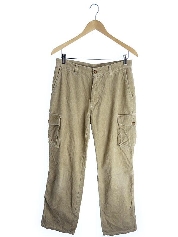 【TOMMY HILFIGER】【ボトムス】トミーヒルフィガー『コーデュロイパンツ size32』メンズ ズボン 1週間保証【中古】