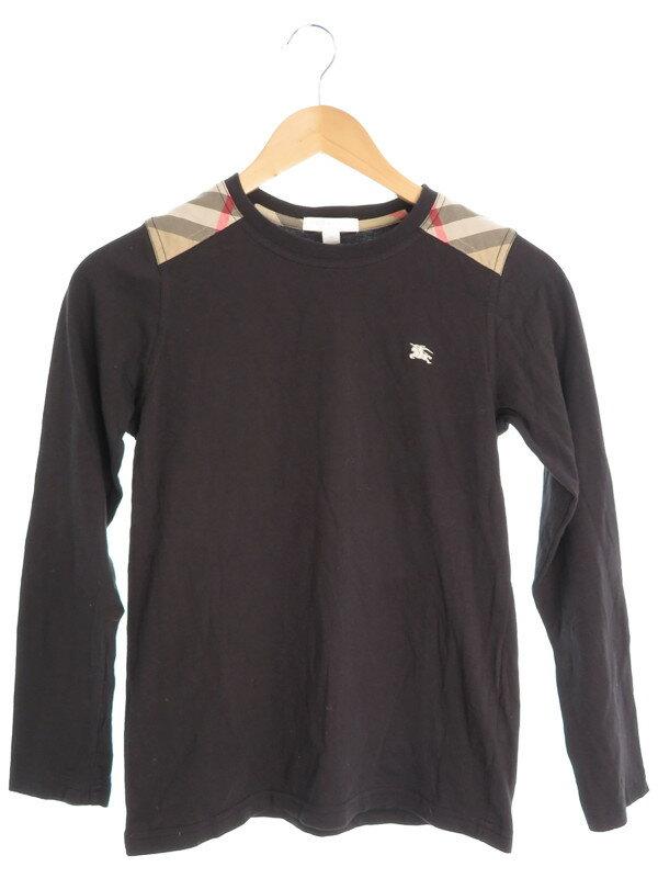 【BURBERRY CHILDREN】【トップス】【キッズ】バーバリーチルドレン『長袖Tシャツ size12Y 152cm』レディース カットソー 1週間保証【中古】