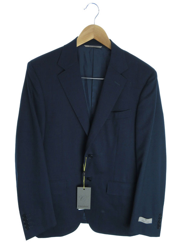 【CANALI】【セットアップ】【2ピース】カナーリ『スーツ上下セット size46』メンズ 1週間保証【中古】