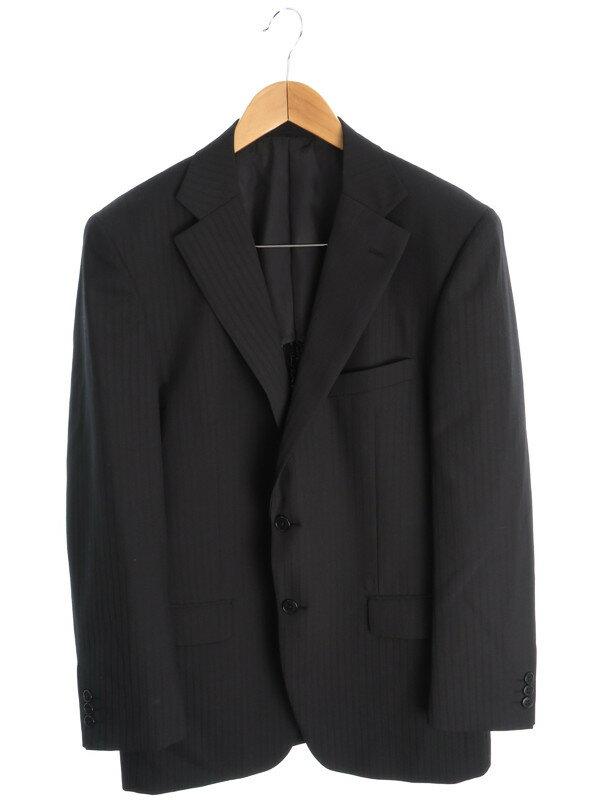 【TOPVALU】【上下セット】トップバリュー『パンツスーツ size100AB7』メンズ セットアップ 1週間保証【中古】