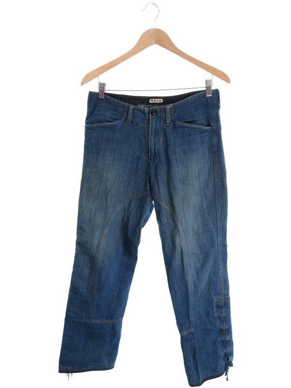 【BLUE BLUE】【ジーパン】ブルーブルー『ジーンズ size2』メンズ デニムパンツ 1週間保証【中古】